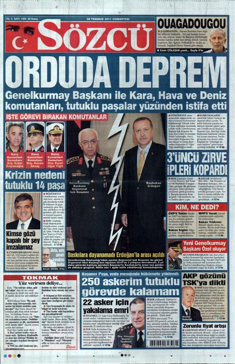 Türk basınında 'İstifa' depremi! galerisi resim 14