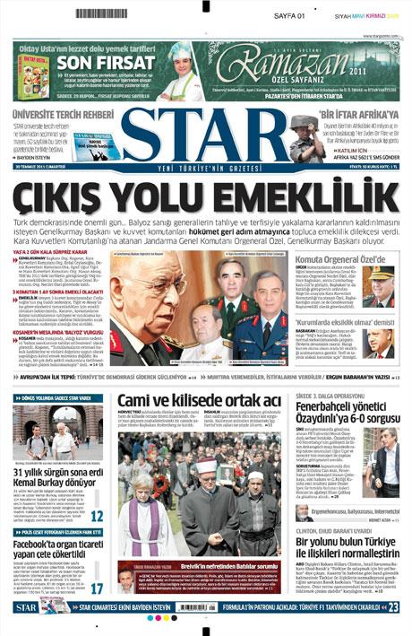Türk basınında 'İstifa' depremi! galerisi resim 15