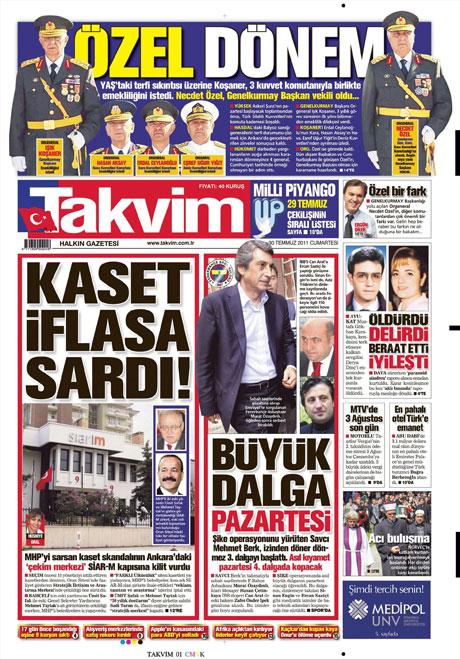Türk basınında 'İstifa' depremi! galerisi resim 16