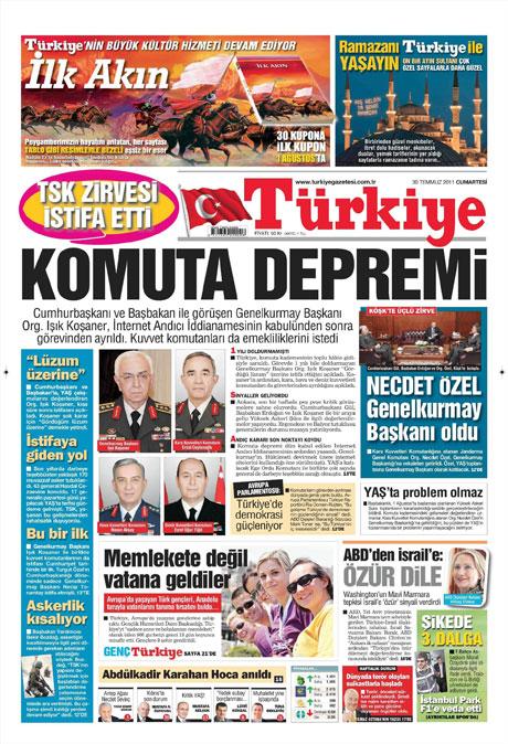 Türk basınında 'İstifa' depremi! galerisi resim 18