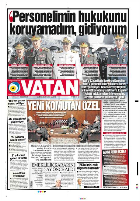 Türk basınında 'İstifa' depremi! galerisi resim 19