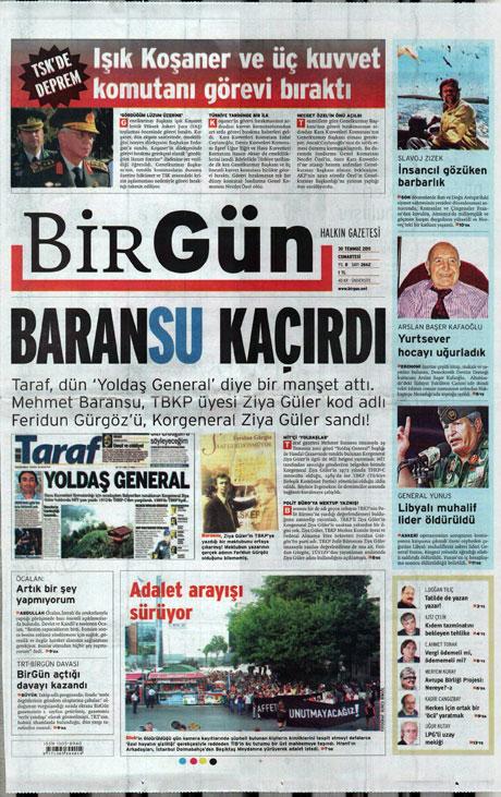Türk basınında 'İstifa' depremi! galerisi resim 2