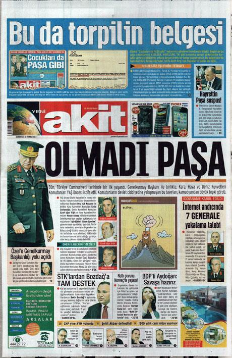 Türk basınında 'İstifa' depremi! galerisi resim 20