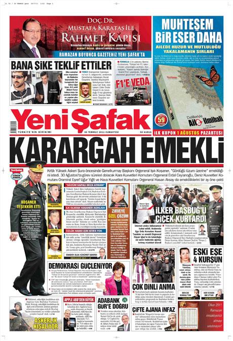 Türk basınında 'İstifa' depremi! galerisi resim 21