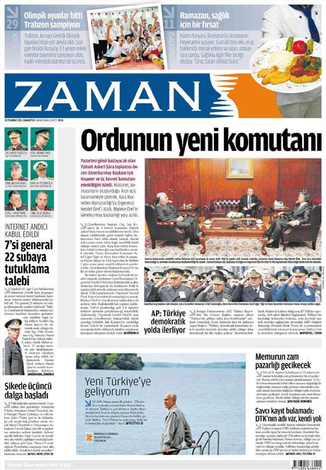 Türk basınında 'İstifa' depremi! galerisi resim 22