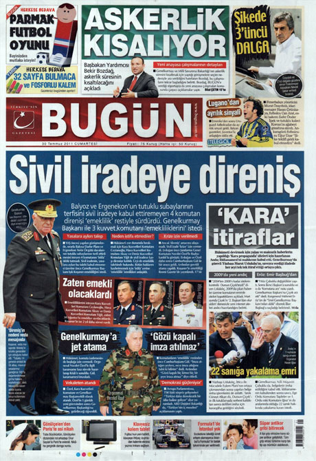 Türk basınında 'İstifa' depremi! galerisi resim 3