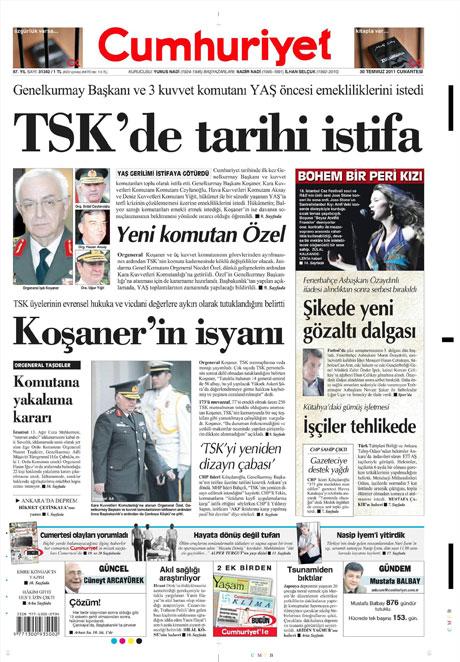 Türk basınında 'İstifa' depremi! galerisi resim 4
