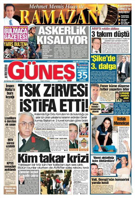 Türk basınında 'İstifa' depremi! galerisi resim 5
