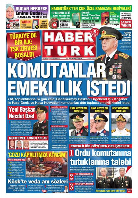 Türk basınında 'İstifa' depremi! galerisi resim 6