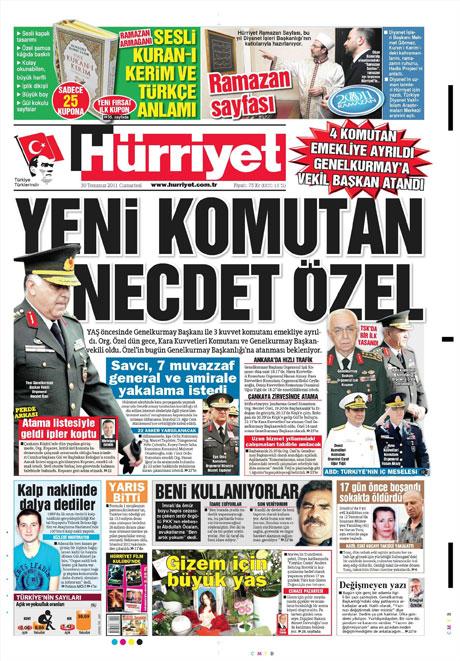 Türk basınında 'İstifa' depremi! galerisi resim 7