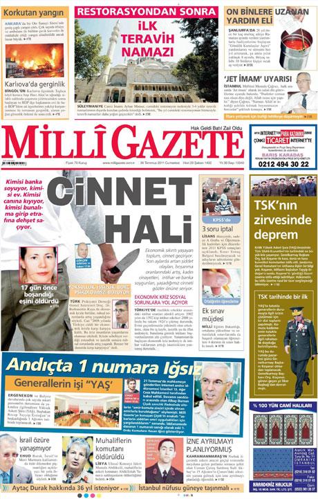 Türk basınında 'İstifa' depremi! galerisi resim 8
