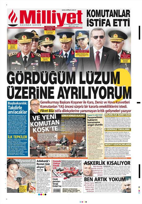 Türk basınında 'İstifa' depremi! galerisi resim 9