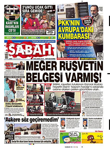 Taraf'ın manşetinde büyük iddia! galerisi resim 13