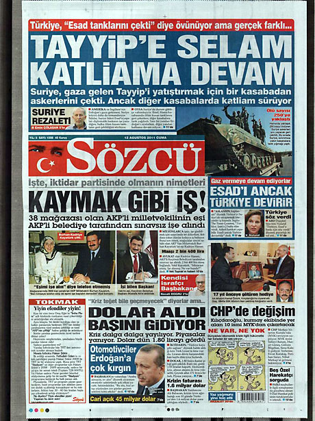 Taraf'ın manşetinde büyük iddia! galerisi resim 14