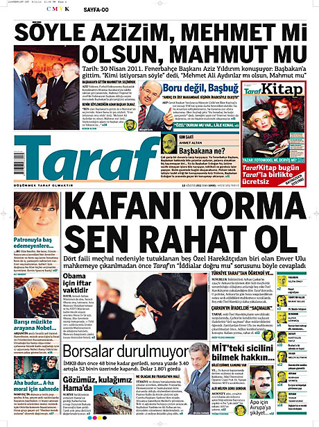 Taraf'ın manşetinde büyük iddia! galerisi resim 17