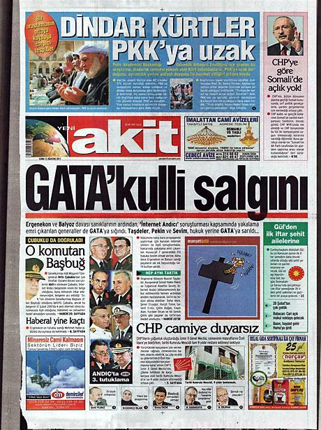 Taraf'ın manşetinde büyük iddia! galerisi resim 20