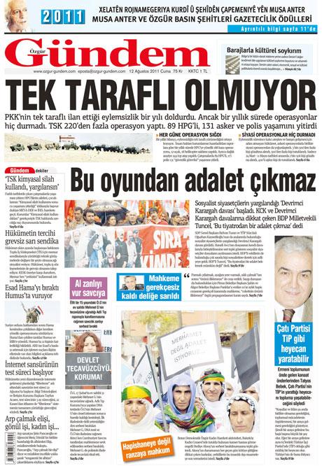 Taraf'ın manşetinde büyük iddia! galerisi resim 23