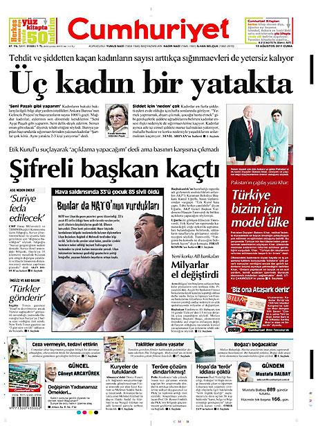 Taraf'ın manşetinde büyük iddia! galerisi resim 4