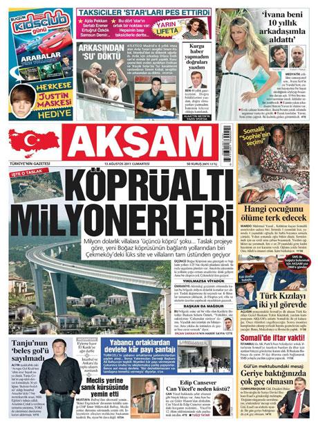 Mehmet Ağar bu manşeti sevmeyecek! galerisi resim 1