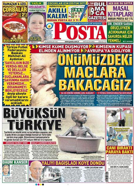 Günün gazete manşetleri! galerisi resim 11
