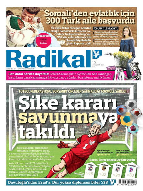Günün gazete manşetleri! galerisi resim 12