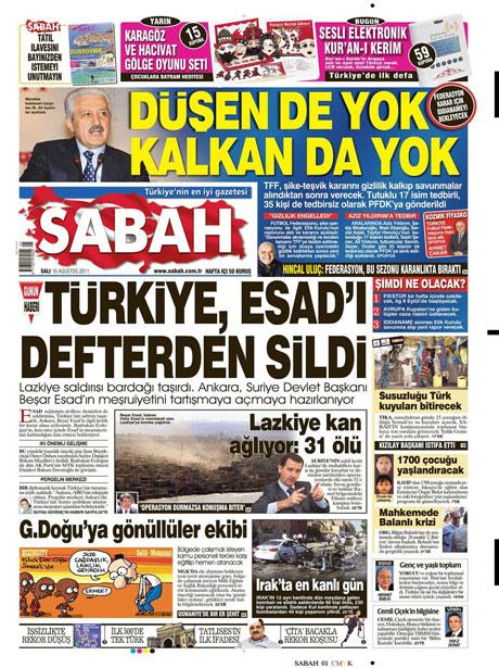 Günün gazete manşetleri! galerisi resim 13