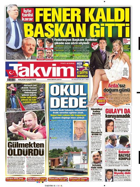 Günün gazete manşetleri! galerisi resim 16