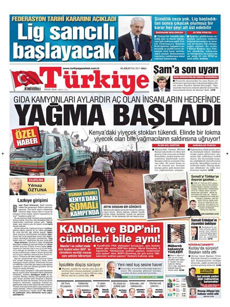 Günün gazete manşetleri! galerisi resim 18