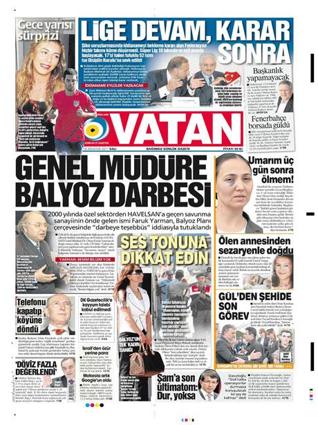 Günün gazete manşetleri! galerisi resim 19