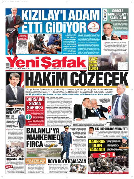 Günün gazete manşetleri! galerisi resim 21
