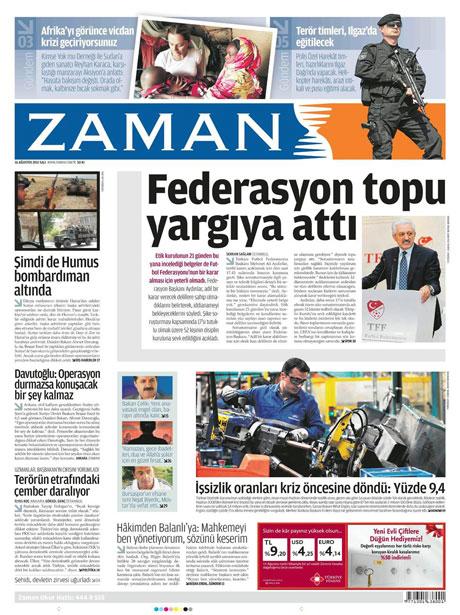 Günün gazete manşetleri! galerisi resim 22