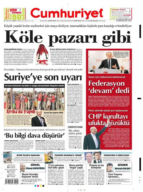 Günün gazete manşetleri! galerisi resim 4