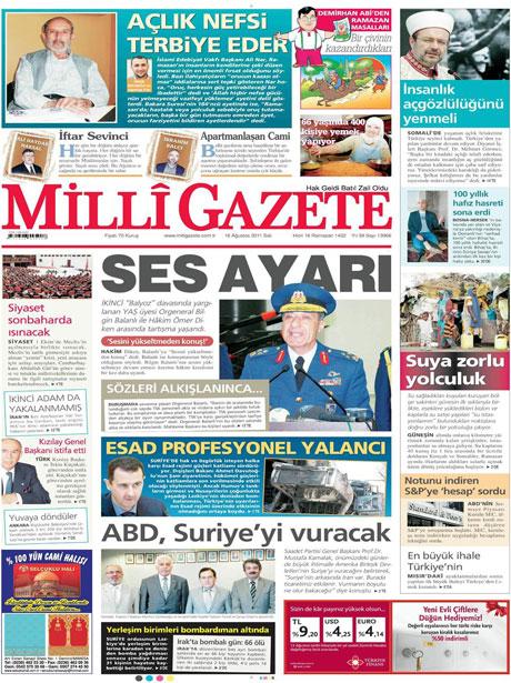 Günün gazete manşetleri! galerisi resim 8