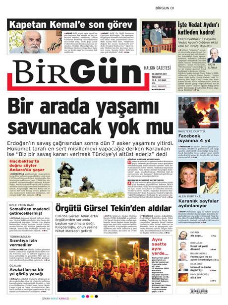 Türk medyasında Kandil manşetleri galerisi resim 2