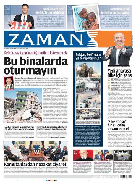 Türk medyasında Kandil manşetleri galerisi resim 20