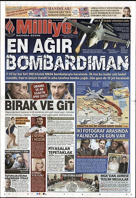 Yeni Şafak'tan BDP'ye manşet'ten cevap! galerisi resim 10