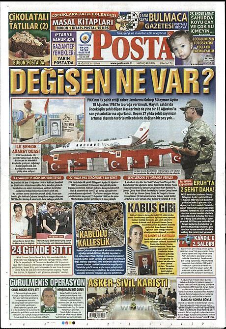 Yeni Şafak'tan BDP'ye manşet'ten cevap! galerisi resim 11
