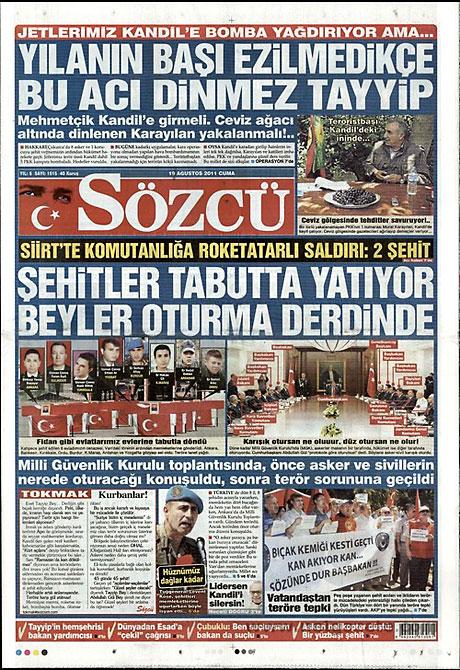 Yeni Şafak'tan BDP'ye manşet'ten cevap! galerisi resim 14