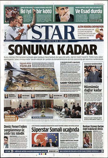 Yeni Şafak'tan BDP'ye manşet'ten cevap! galerisi resim 15