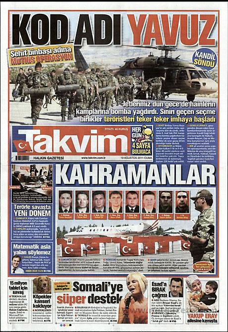 Yeni Şafak'tan BDP'ye manşet'ten cevap! galerisi resim 16