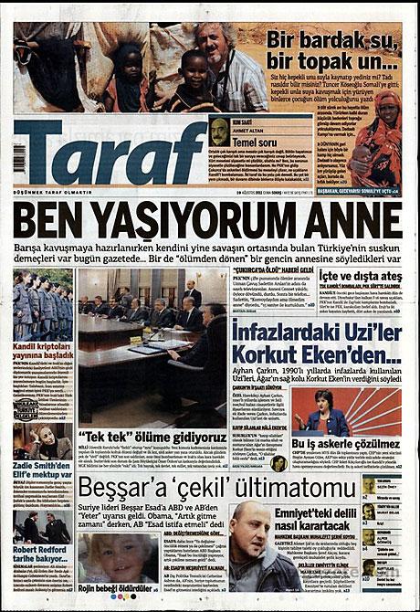 Yeni Şafak'tan BDP'ye manşet'ten cevap! galerisi resim 17