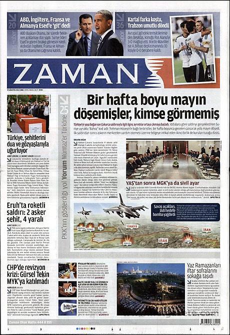 Yeni Şafak'tan BDP'ye manşet'ten cevap! galerisi resim 23