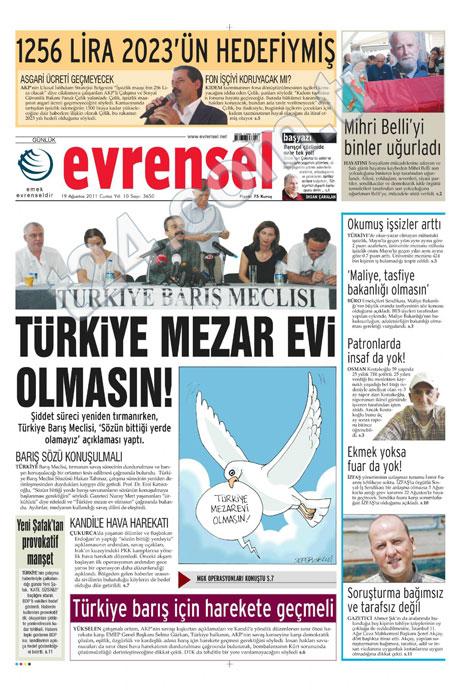 Yeni Şafak'tan BDP'ye manşet'ten cevap! galerisi resim 25