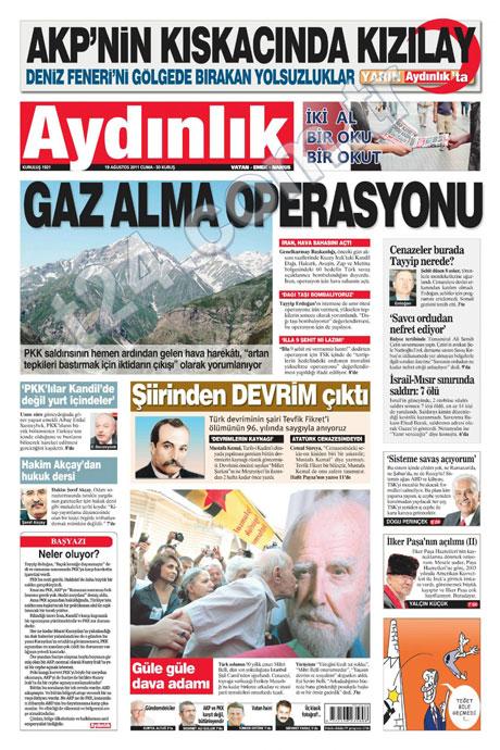 Yeni Şafak'tan BDP'ye manşet'ten cevap! galerisi resim 26