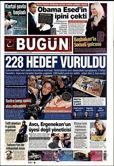 Yeni Şafak'tan BDP'ye manşet'ten cevap! galerisi resim 3