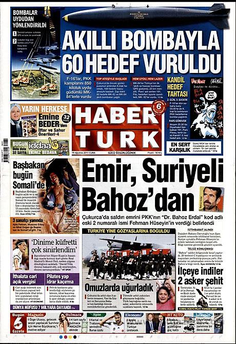 Yeni Şafak'tan BDP'ye manşet'ten cevap! galerisi resim 7