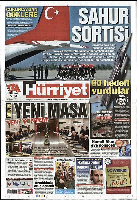 Yeni Şafak'tan BDP'ye manşet'ten cevap! galerisi resim 8