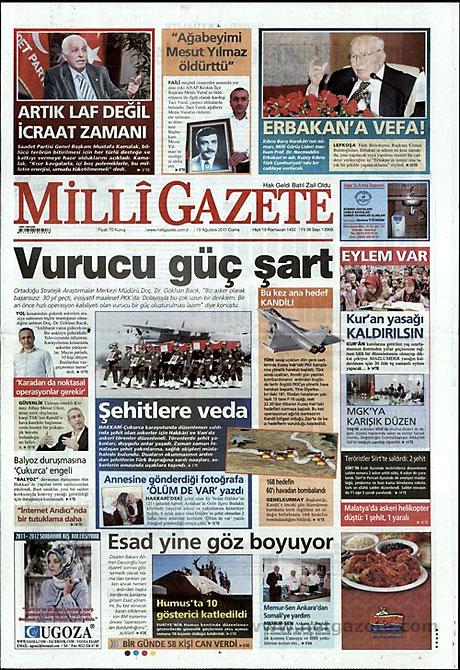 Yeni Şafak'tan BDP'ye manşet'ten cevap! galerisi resim 9