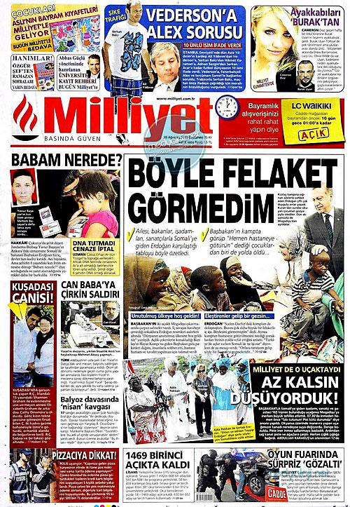 Günün Gazete Manşetleri (20.08.11) galerisi resim 11