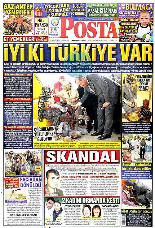 Günün Gazete Manşetleri (20.08.11) galerisi resim 13